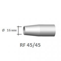 Сопло коническое d=16 RF 45/45