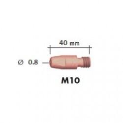 Наконечник M10 40мм ?0.8